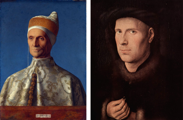 Bellini Van Eyck Inspire by art
